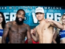 Adrien Broner - Jessie Vargas Weigh In