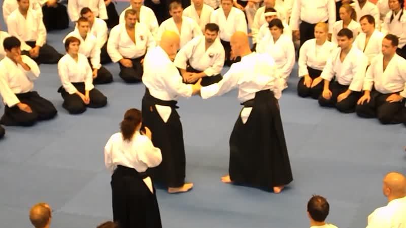 Мастер-класс Шихана Ульфа Эвенаса в рамках World Combat Games в Санкт-Петербуге 2013 Кататэ-дори сихо-нагэ, омотэ-вадза, готай