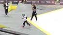 без ног на скейте world cup skateboarding Moscow 2018