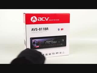 Обзор магнитолы ACV AVS-811BR
