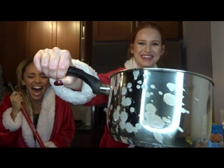 Loopy holiday baking with riverdale costar vanessa morgan- madelaine petsch