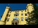 Замок Хоэншвангау в юго-западной Баварии, Германия
