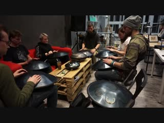 Школа игры на глюкофонах , rav vast и хангах inoy drum school