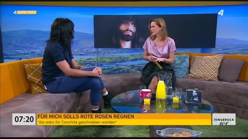 Conchita im Café Puls 22.10.2018