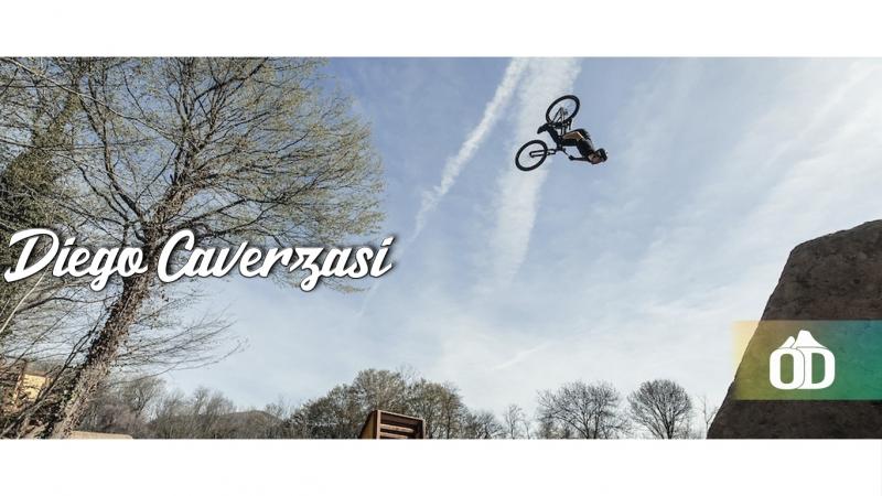 Diego Caverzasi Rides Dirt Jumps, His DH Bike
