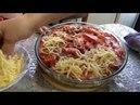 Очень вкусная мясная запеканка салатик из репки