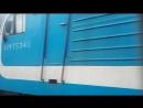 эп1п 025 с пассажирским поездом и эр9пк 427 путеец - встреча 2 поездов