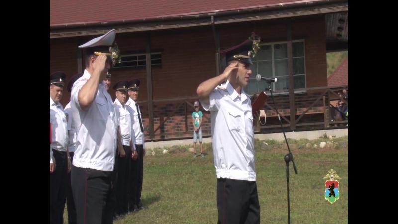 Отдельный батальон патрульно-постовой службы полиции УМВД России по Петрозаводску отметил день образования