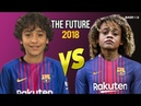 Xavi Simons VS Lucianinho 2018 ● Future of Barcelona ● HD