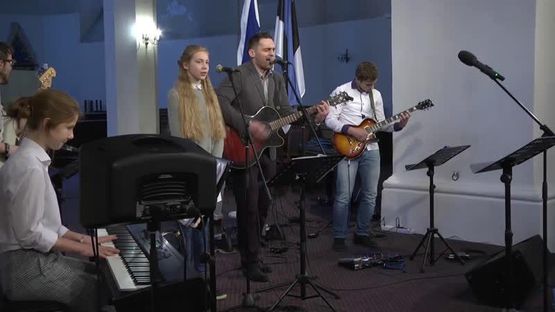 ПРЯМОЙ ЭФИР молитвенной конференции «Пенуэл» в Таллине.