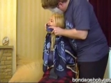 Petra Morgan scarf bondage