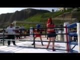 Box Pelea Claudia vs Katty (3 Rounds)