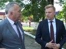 Игорь Чагаев встретился с главврачом и коллективом ЦРБ.