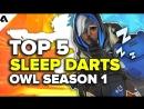 Top5 Sleep darts OWL