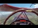 Пилот запустил заглохший двигатель биплана в нескольких метрах от земли