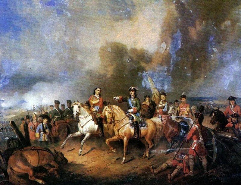 Полтавская битва. Рождение империи. 27 июня 1709 г. Богдан Виллевальде