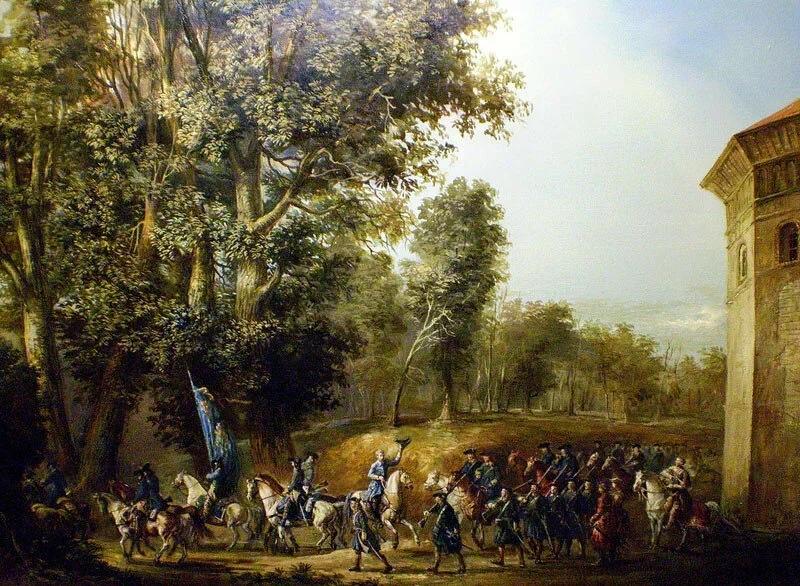 Карл XII и его солдаты. Эдуард Якушин