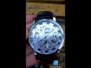 механические часы с открытым механизмом Аль Курси