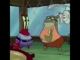 Squidward gets thrown into WTC SpongeBob 9/11 meme