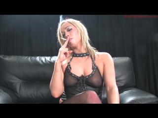 Mistress Charley Chase Smoking Domination POV