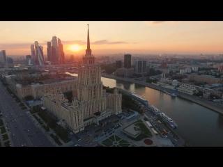 Москва вид сверху