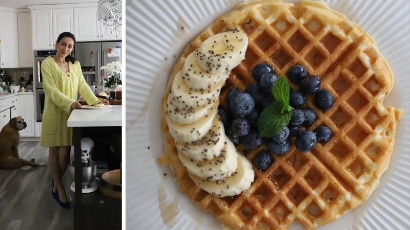 Очень Вкусные Вафли - Belgian Waffles - Рецепт от Эгине - Heghineh Cooking Show in Russian