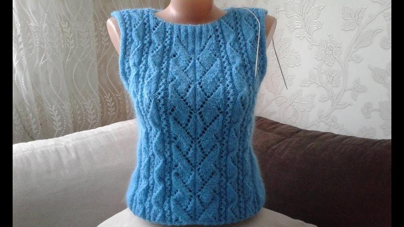 Свитер Геометрия. Часть 4. Кnit sweater.