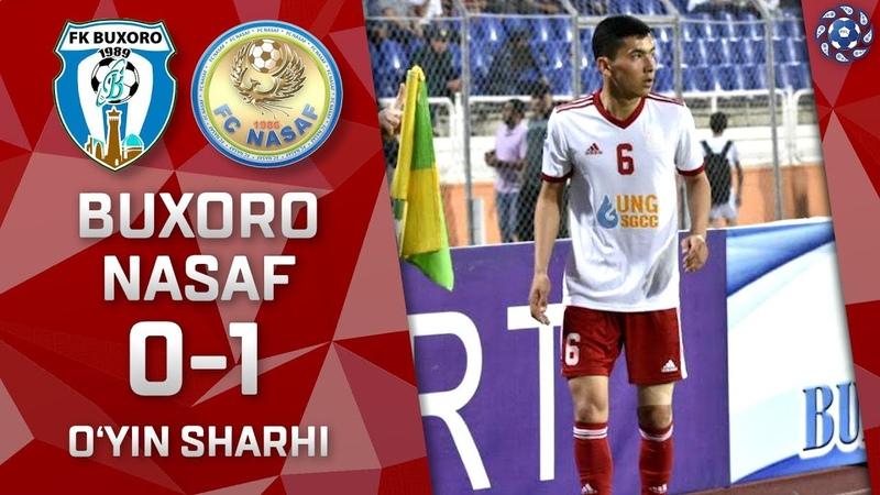 Buxoro - Nasaf - 0:1 | O'yin sharhi | Superliga 7-tur (04.05.2019)