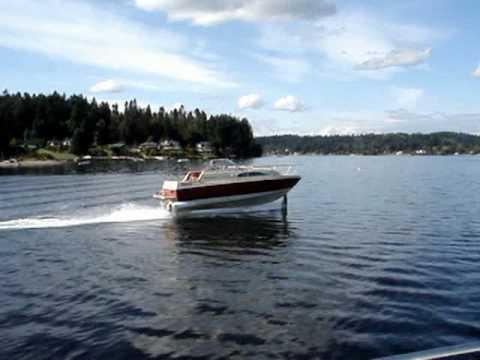 HYDROFOIL--AWESOME BAYLINER FLYS Ray Vellinga video