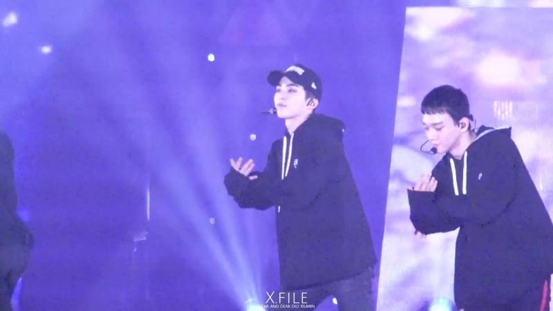 [FANCAM] 171222 The EℓyXiOn in Fukuoka: D-1 @ EXO's Xiumin — Don`t go