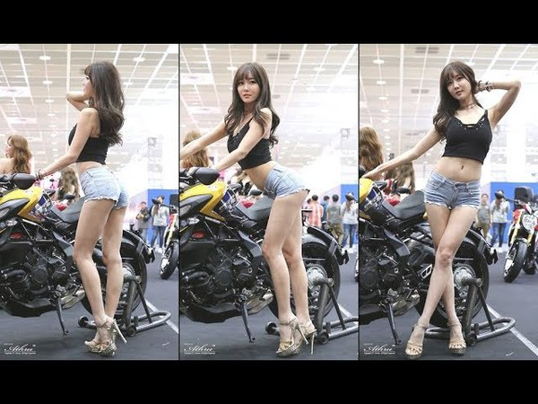 2018 모터사이클쇼 -최슬기(崔瑟琪, cui se qi) MV아구스타 부스 포토타임 직캠 fancam by Athrun