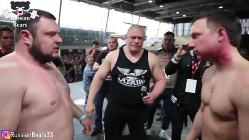 ЧЕМПИОНАТ ПО ПОЩЕЧИНАМ В РОССИИ: ЛОВИ ЛЕЩА!