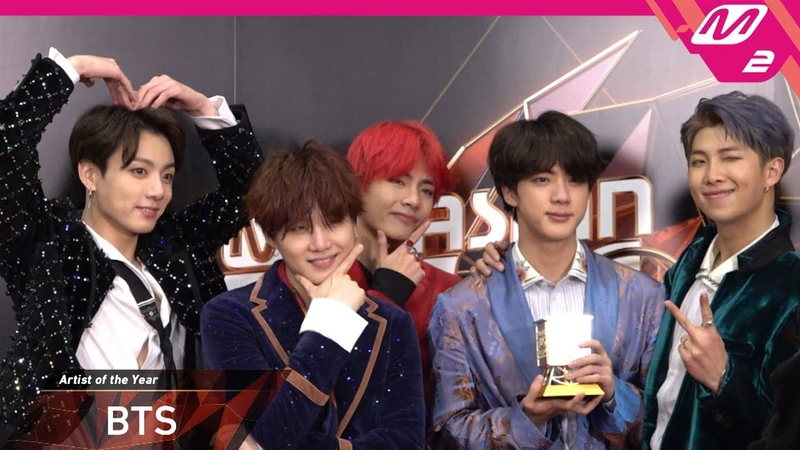 [2018MAMA x M2] 방탄소년단(BTS) at 땡큐스테이지(Thank You Stage) in HONG KONG