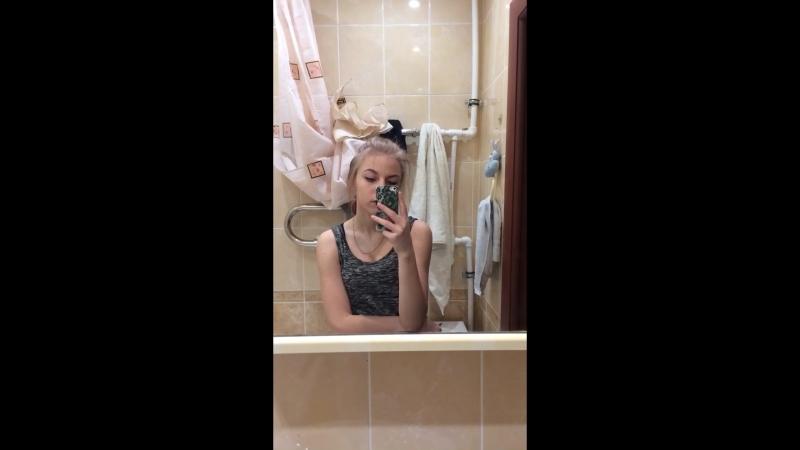 «Дрочилась» в ванной