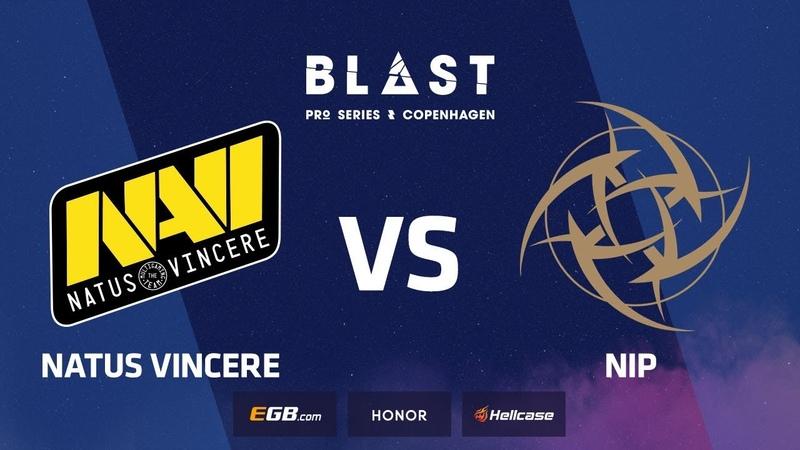Natus Vincere vs NiP, map 1 mirage, Grand Final, BLAST Pro Series Copenhagen 2018