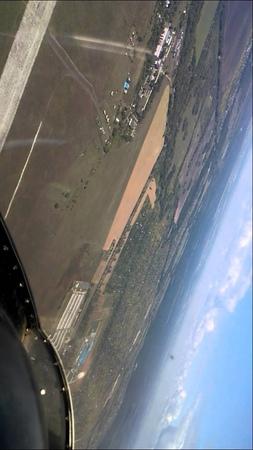 Полёт на планере. Пенза, аэродром Сосновка.