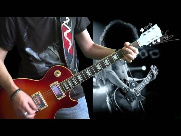 Guns N' Roses - November Rain (Guitar Cover All Solos)