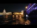 В ночную разводку мостов на теплоходе-ресторане Москва-194 (18.07.2018)