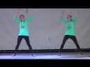 [v- танец.Хватит учить, давай танцевать.Соня и Ксюша Макиенко!.mp4