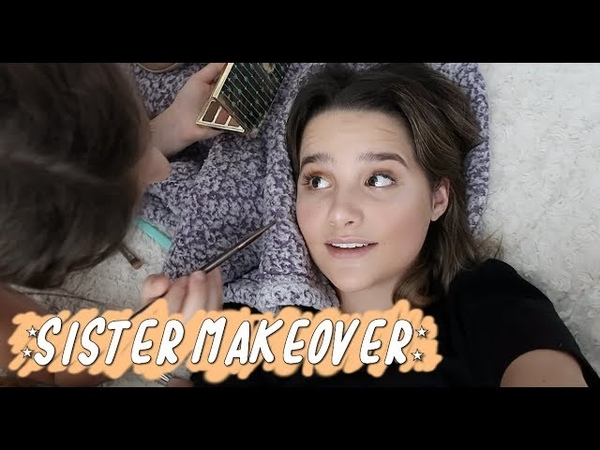 Hayley Gives Annie a Makeover with Freckles Wing (WK 407.7) | Bratayley