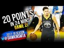 Klay Thompson Full Highlights 2018 Finals GM2 Golden State Warriors vs Cavs -  20Pts! | FreeDawkins