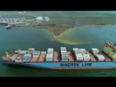 Maersk Klaipeda заходит в TIS