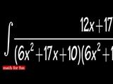 Math for fun#6, BIG INTEGRAL from Prof Tchertchian