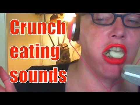 Crunch eating sounds Prawn Crackers No Talking asmr mukbang eating show