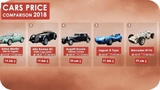 Cars Price Comparison 2018 - Most Expensive Cars ( Including HP &amp Top Speed )