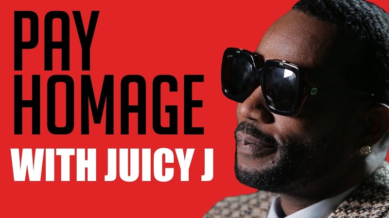 Juicy J Pays Homage to Dr. Dre, Andre 3000 and Pimp C