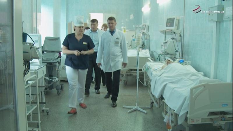 В Серпухов с рабочим визитом приехал министр здравоохранения Московской области