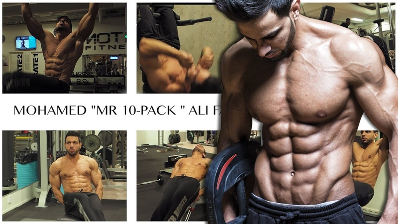 HE HAS 10 ABS! ( 10-Pack ) - Here is his 6 Favorite ab exercises