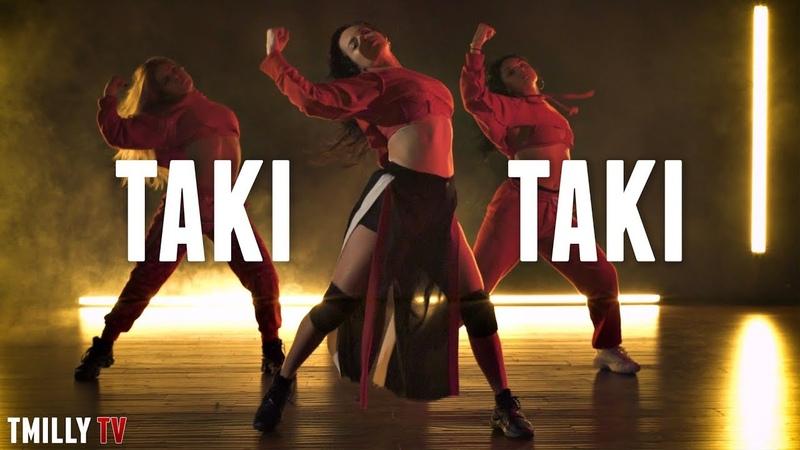 DJ Snake - Taki Taki ft. Selena Gomez, Cardi B, Ozuna - Dance Choreography by Jojo Gomez | TMillyTV
