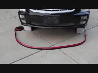 Универсальная губа на бампер 250 см
